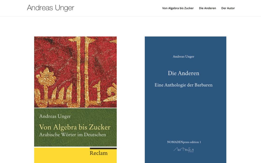 Andreas Unger, Autor aus Berlin